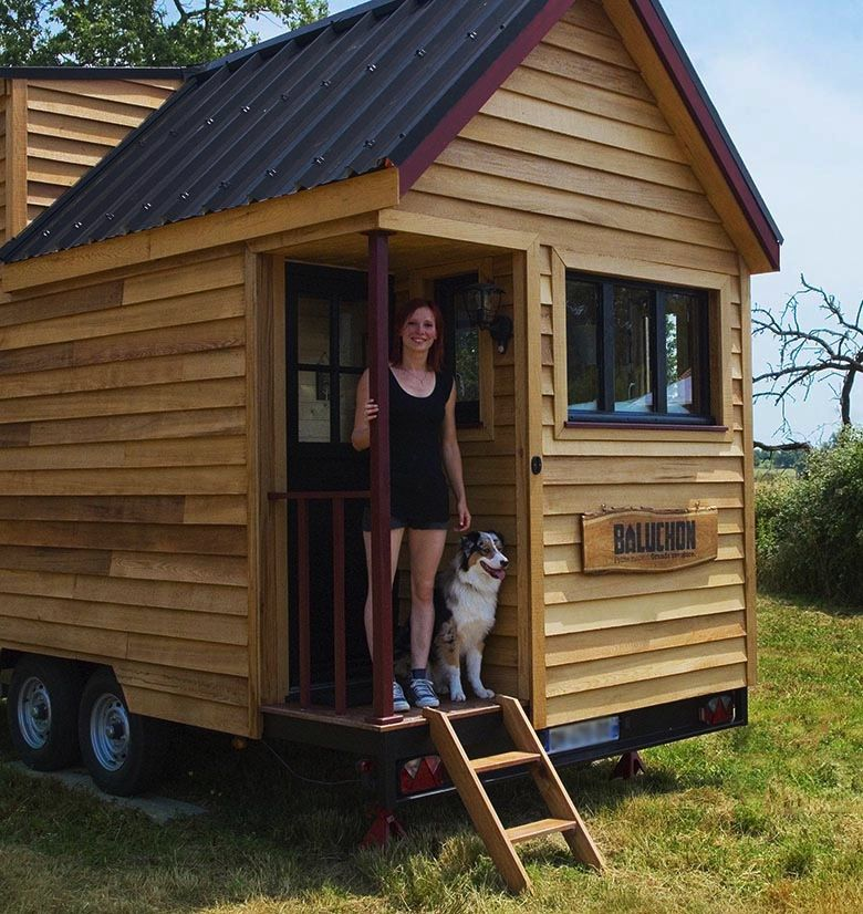 Tiny house fabriqu e en france le projet baluchon for Construire sa tiny house