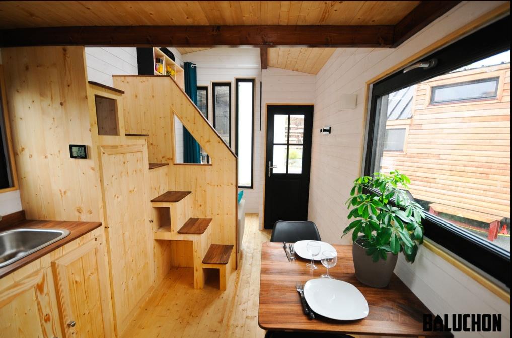 Tiny House fabriquée en France : le projet Baluchon