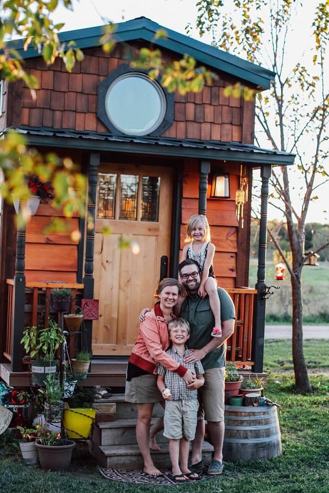 tiny house en famille