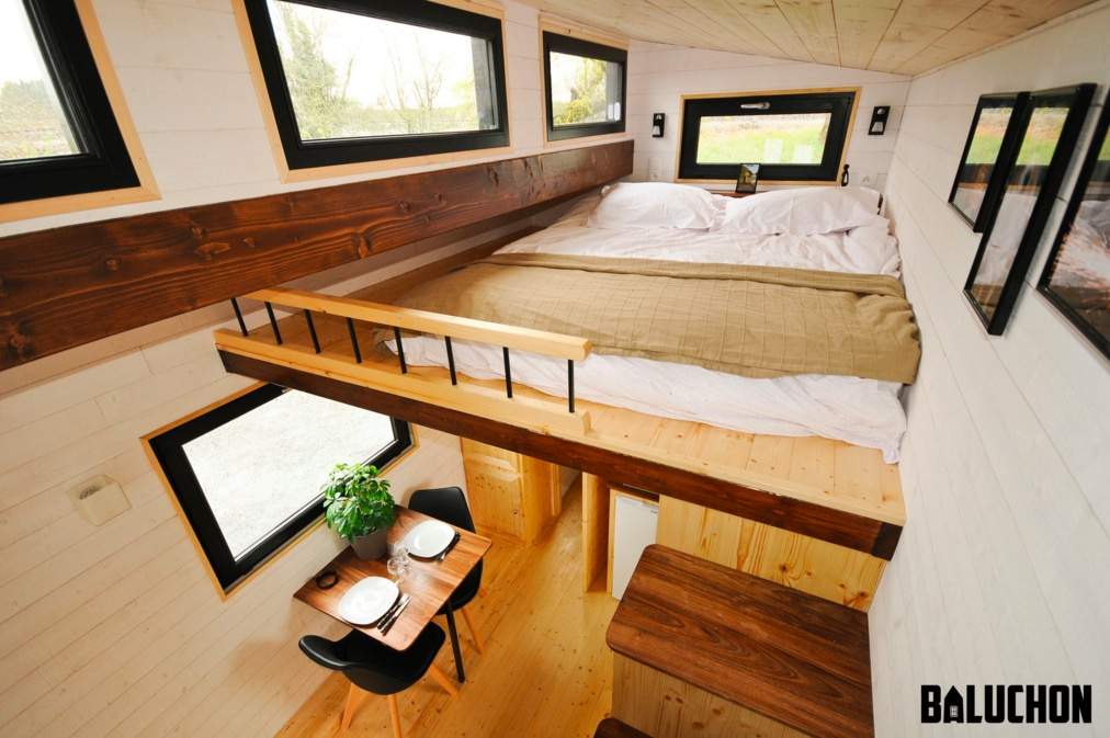 tiny house fabriquee en France Baluchn