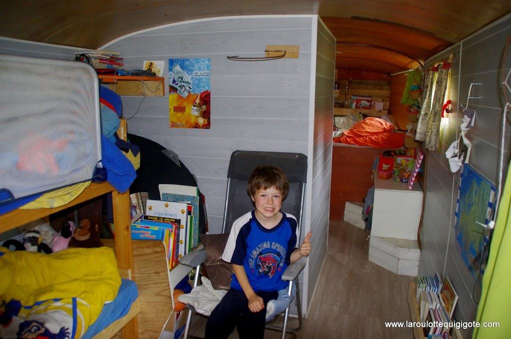 chambre enfant bus aménagé