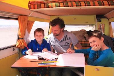école à la maison nomade