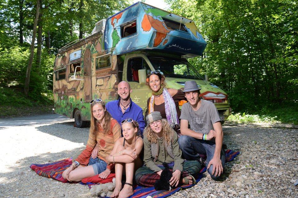 Une famille en tour du monde avec 4 enfants depuis 8 ans