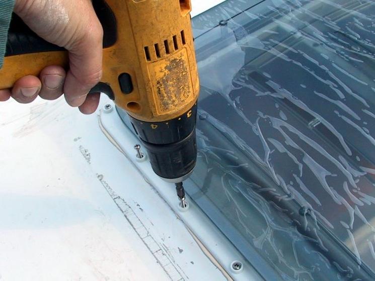 installer landerneau rivets