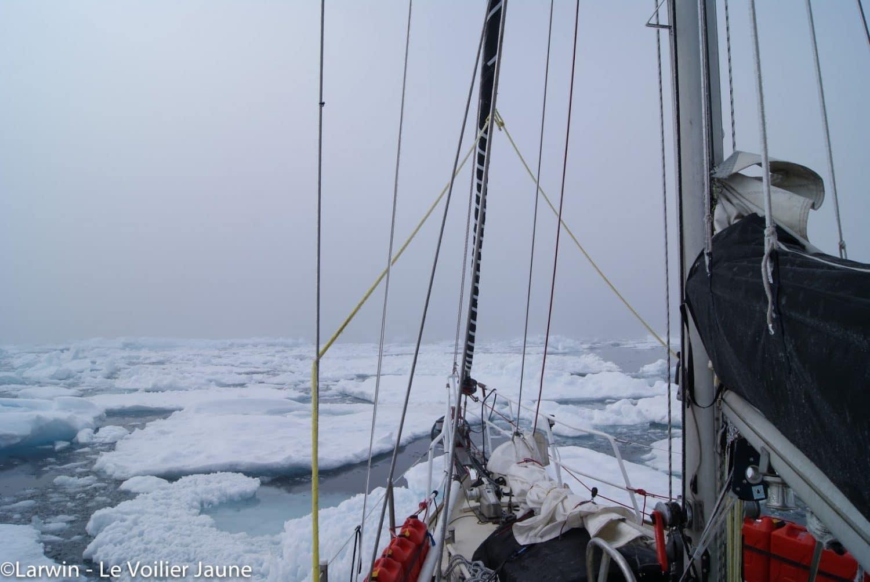 tout plaquer pour vivre sur un voilier Groenland