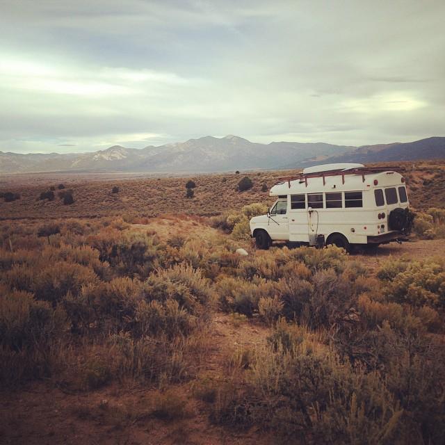 voyage bus aménagé