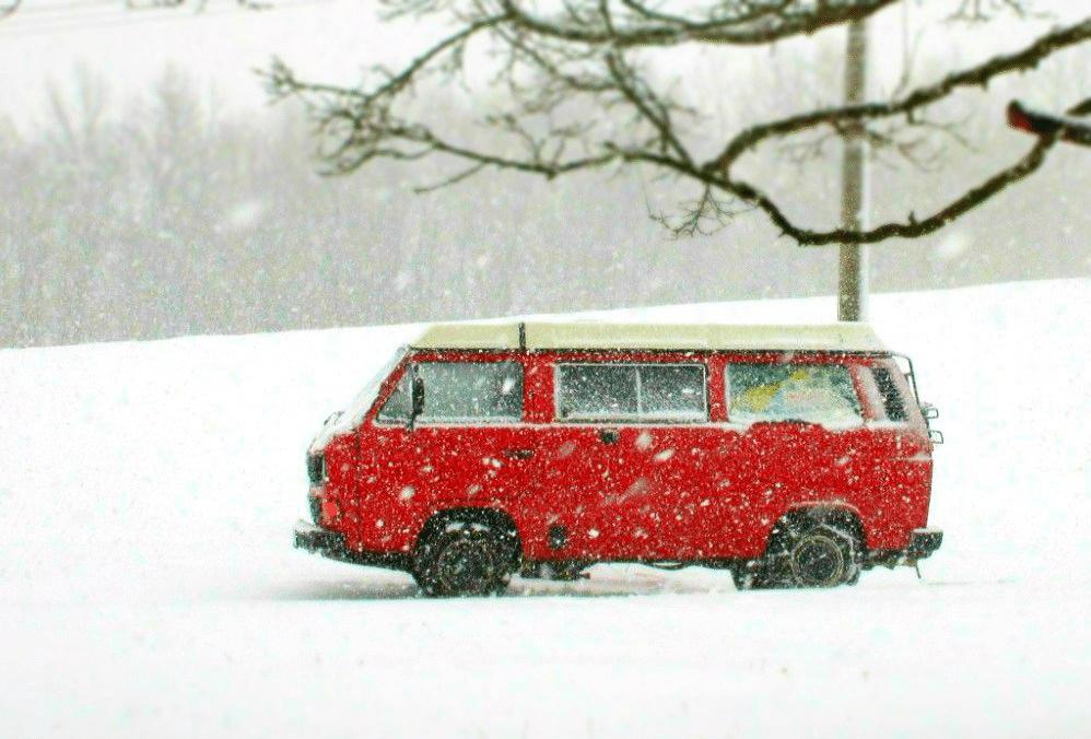 Au chaud en hiver, chauffage sans cheminée pour camion aménagé