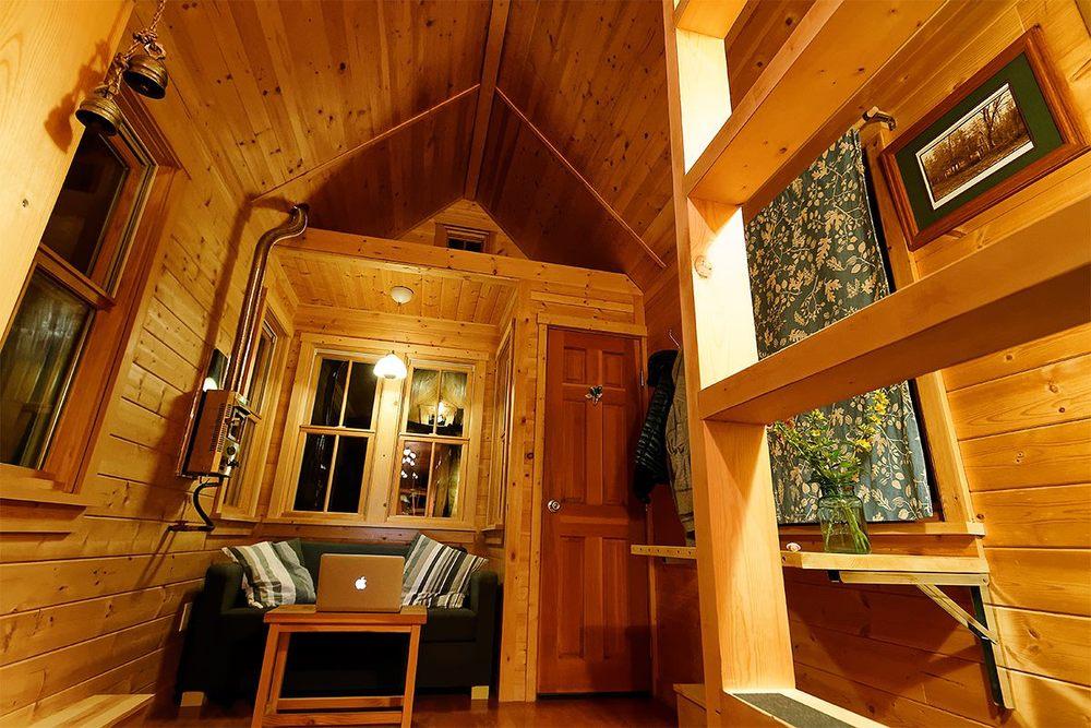 tiny house en bois modèle