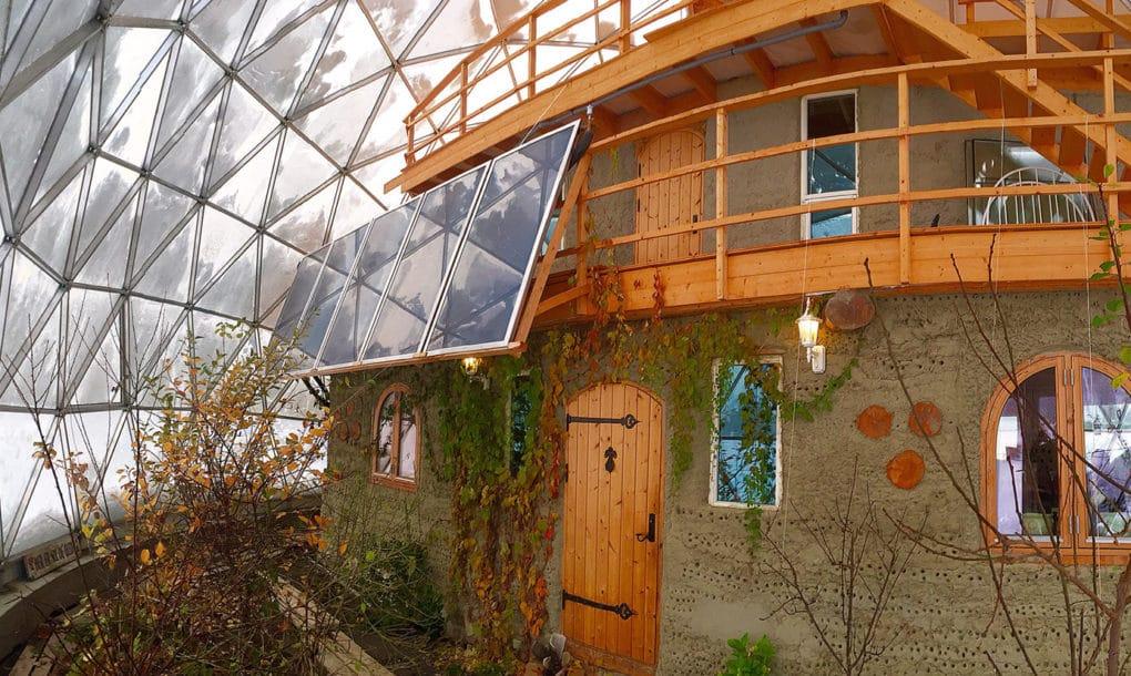 maison dôme géodésique