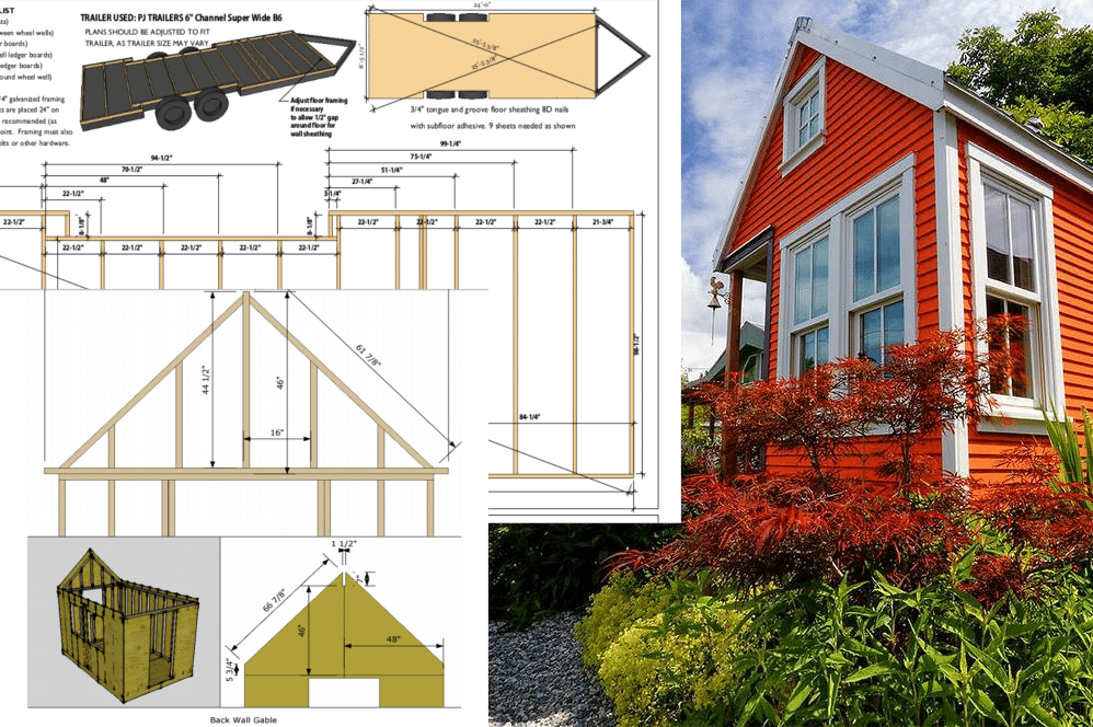construire sa propre tiny house plans gratuits et ForConstruire Sa Tiny House