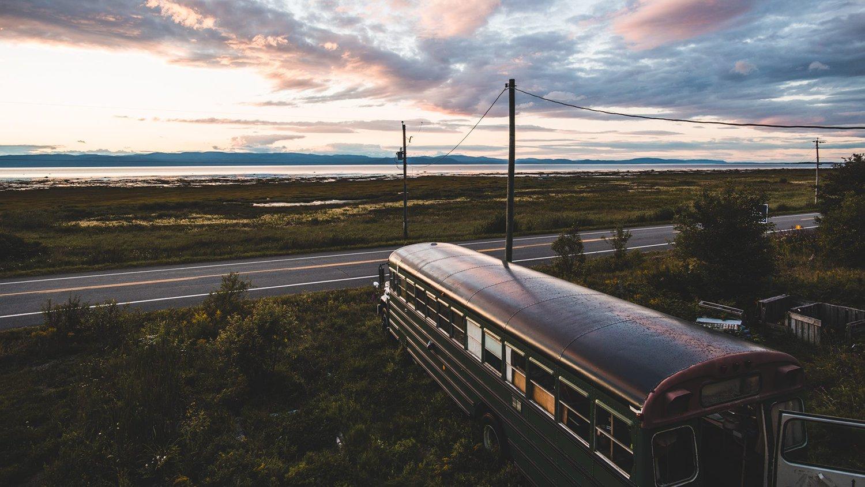 Bus aménagé canada