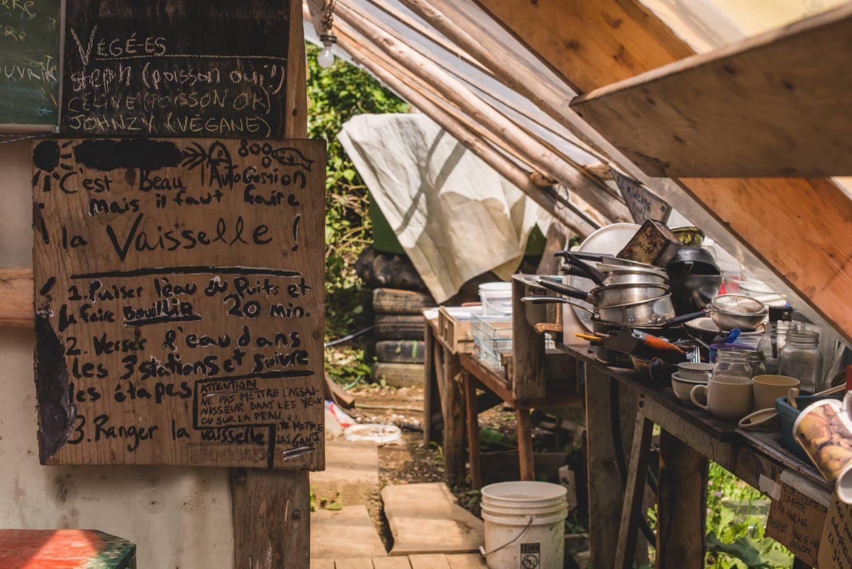 autocontructions écologiques cuisine