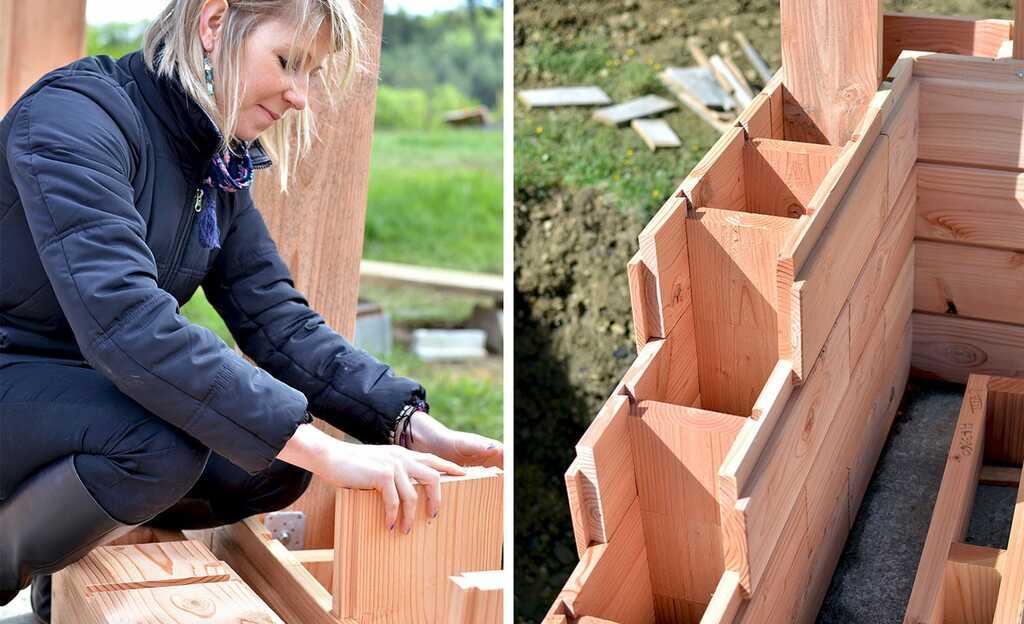maison écologique en bois facile à construire