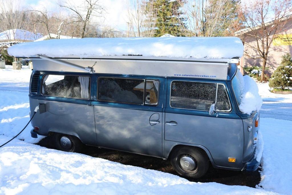 Combi Vw van électrique