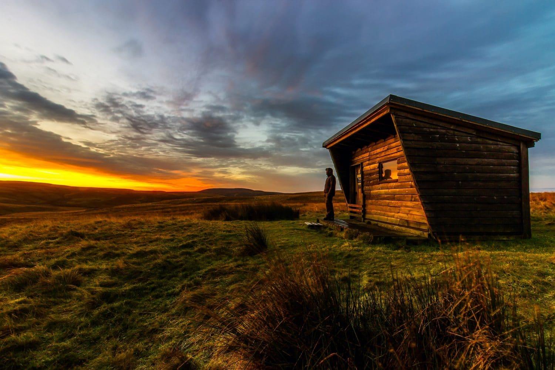 terrain non constructible cabane bois