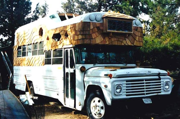 installer un camion aménagé sur un terrain non constructible