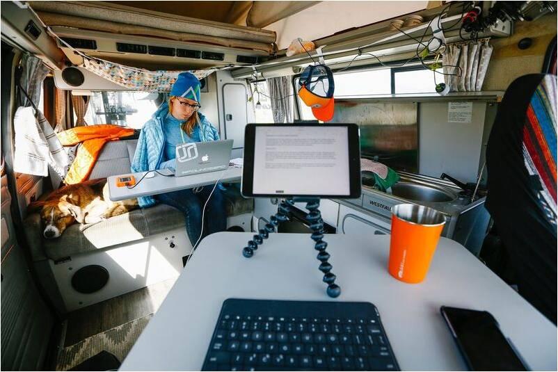 Internet en voyage vivre en camion aménagé