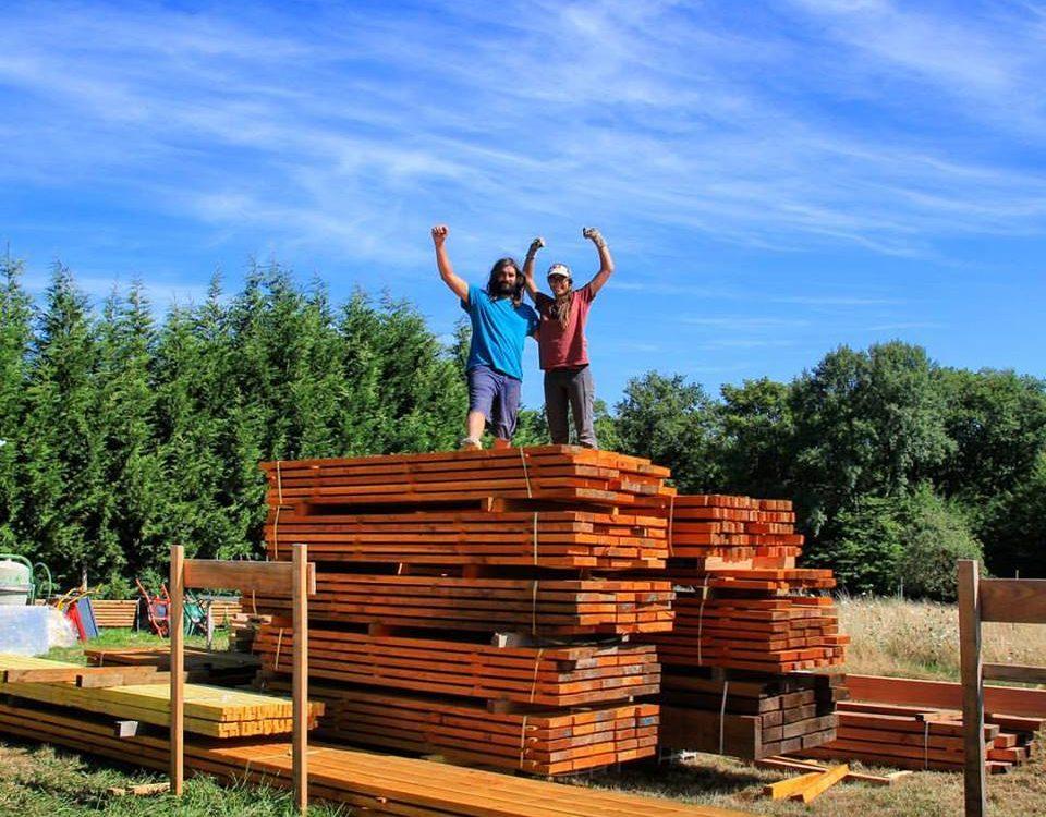 Autoconstruire sa tiny house fixe ce couple partage for Autoconstruire sa maison