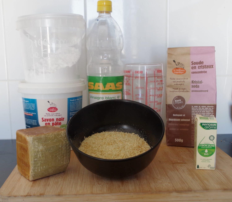 Zéro déchet dans la cuisine liquide vaisselle DIY
