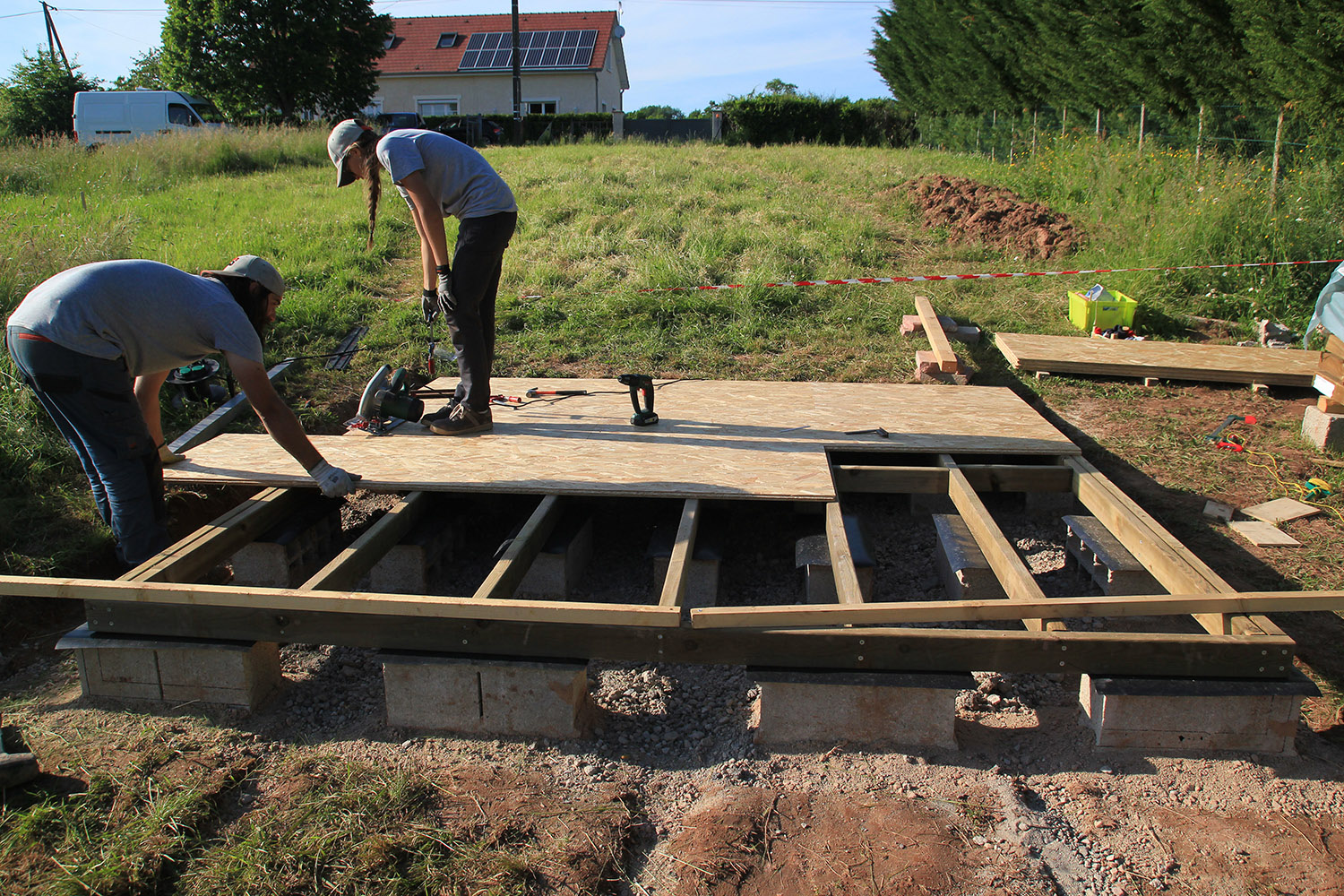 autoconstruction d'une Tiny House sans remorque