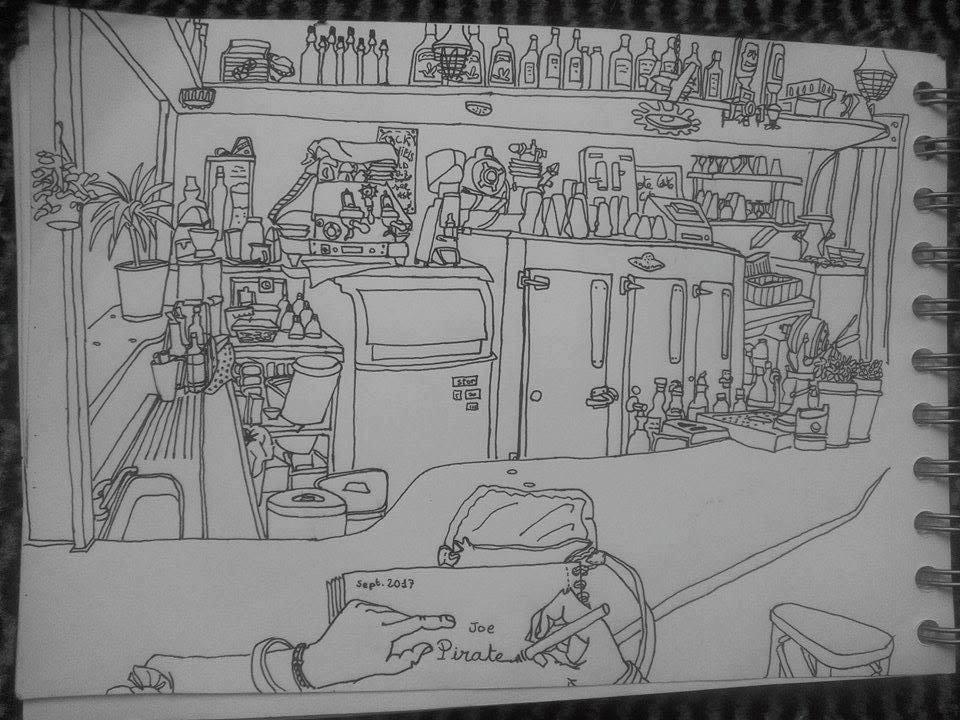 dessiner un bar