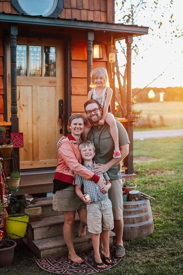 famille en tiny house