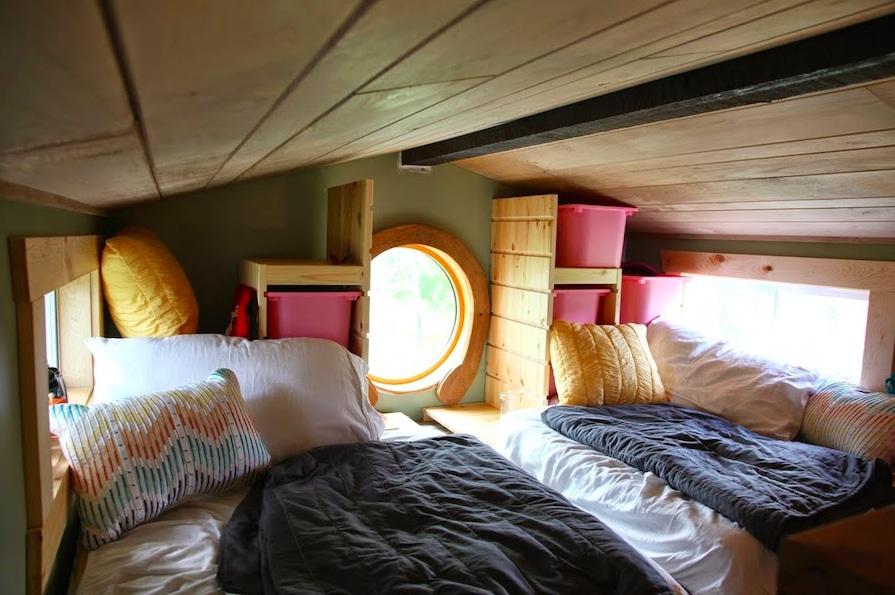 tiny house chambre enfants