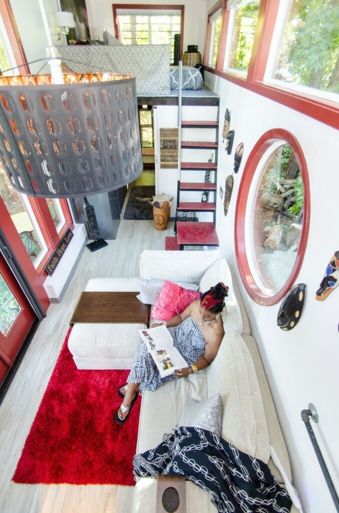 tiny house de l'interieur jewel