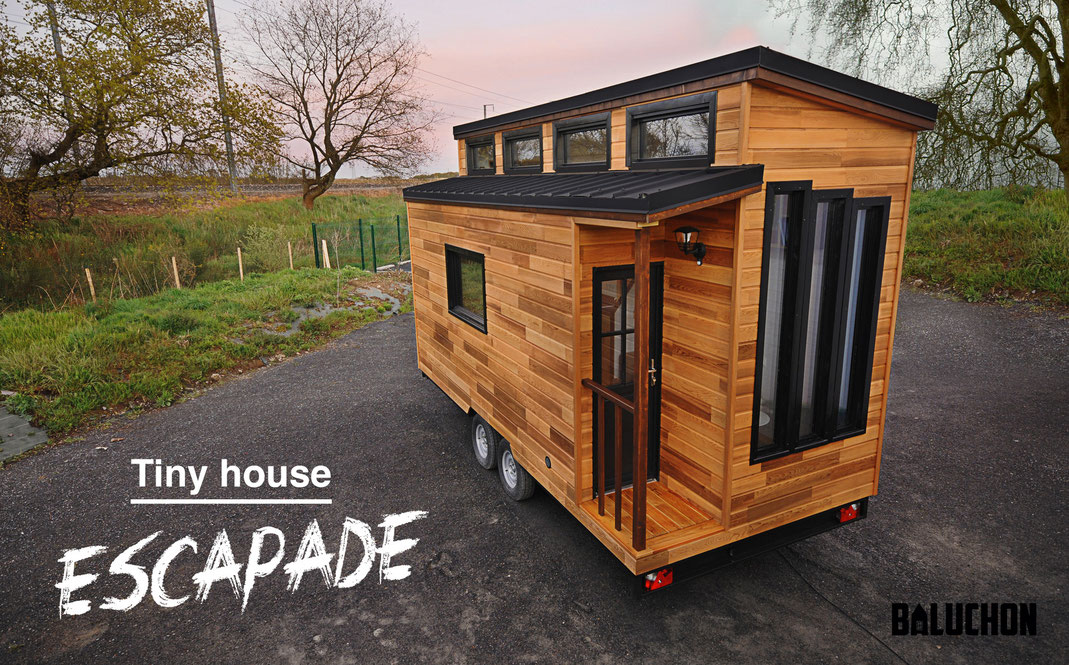 tiny house fabriquee en France Baluchon