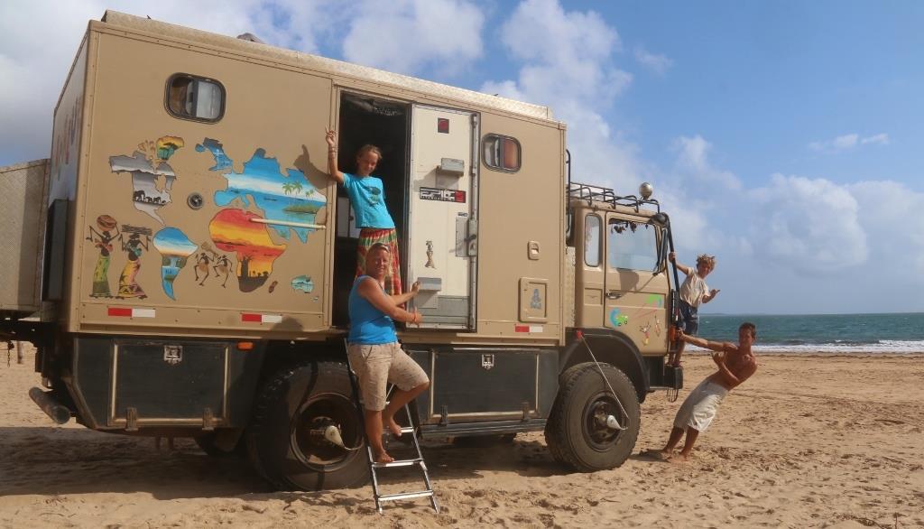 voyager en famille camion aménagé