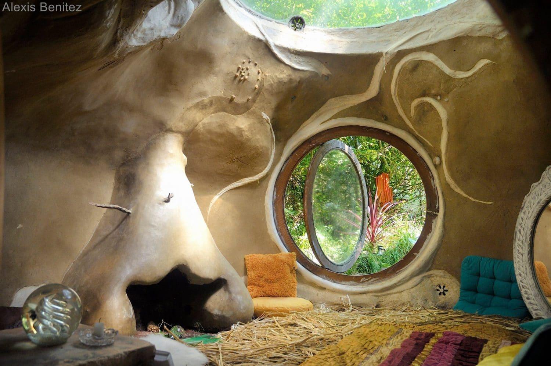 maison écologique autoconstruite