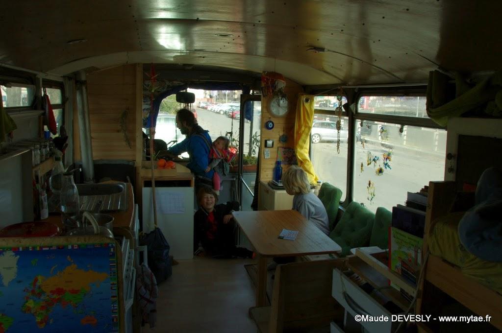 vivre en famille dans un bus aménagement