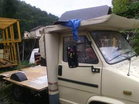 campin-car roulotte