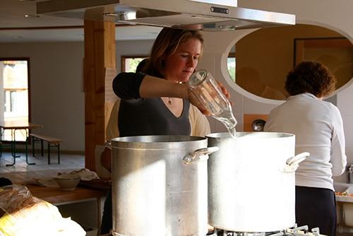 communauté écologique cuisine commune