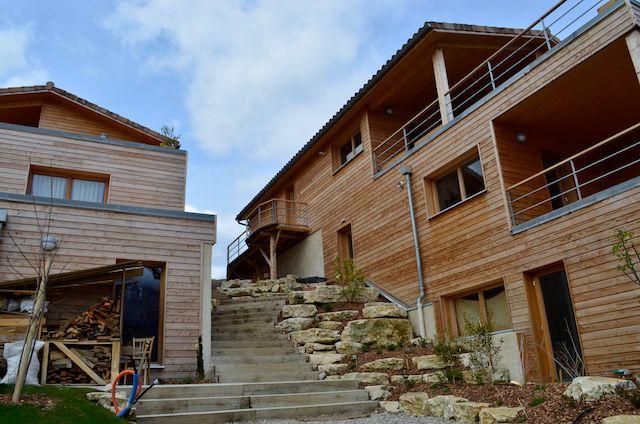 Vivre dans une communauté écologique : Habiterre dans la Drôme