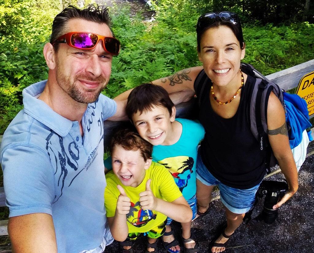 Vivre à temps plein en van en famille