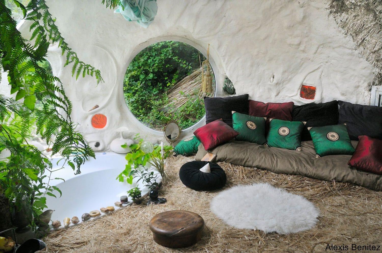 maison écologique autocontruite terre chanvre