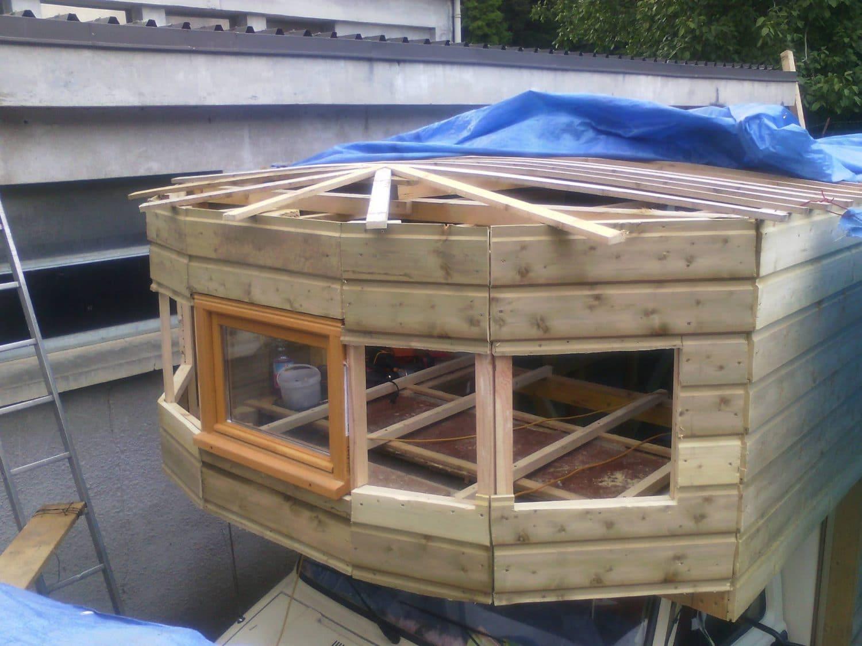 roulotte en bois fabrication