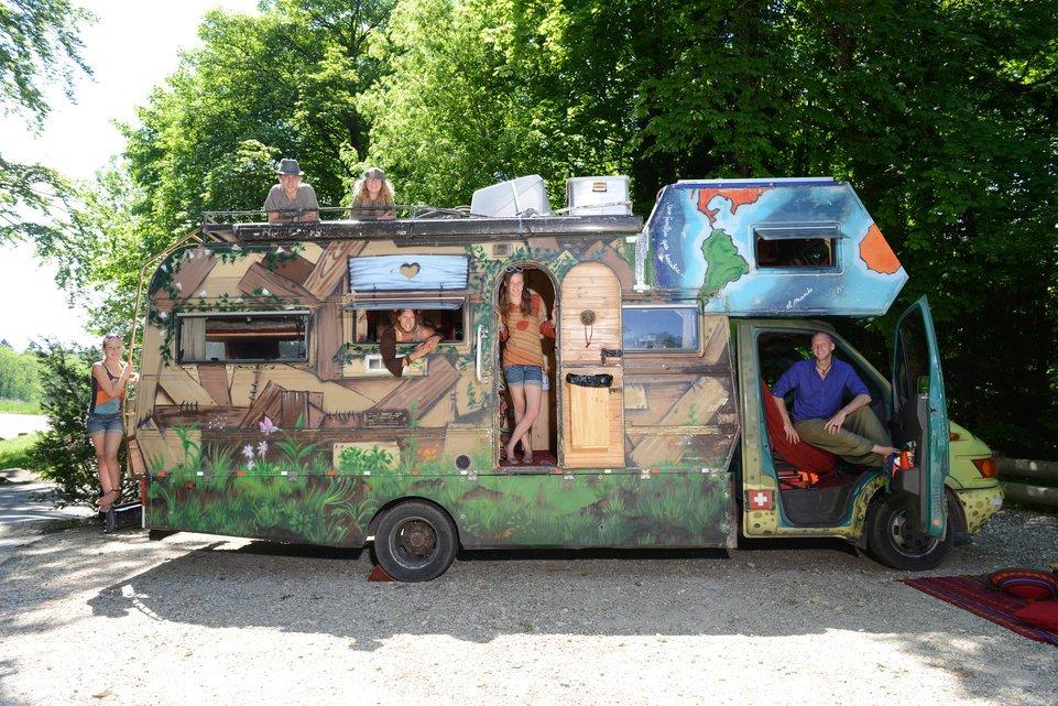 préparer ses enfants vivre en camping-car