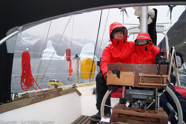 tout plaquer pour vivre sur un voilier froid