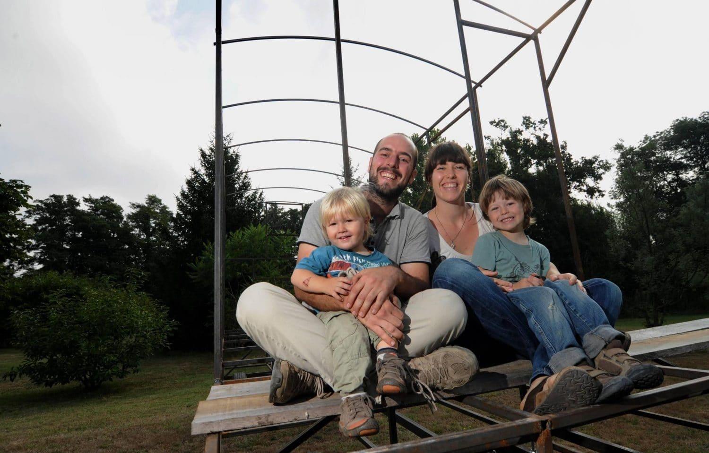 vivre en roulotte en famille
