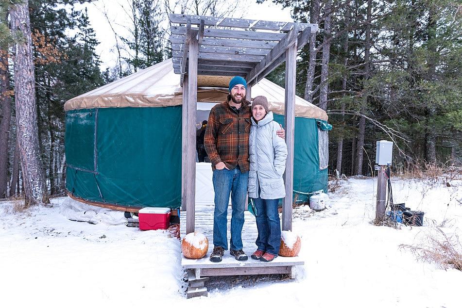 6a8d6aace14156 Vivre en yourte toute l année   c est comment en hiver