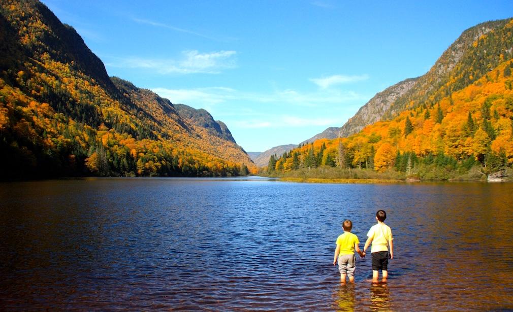 voyager avec des enfants