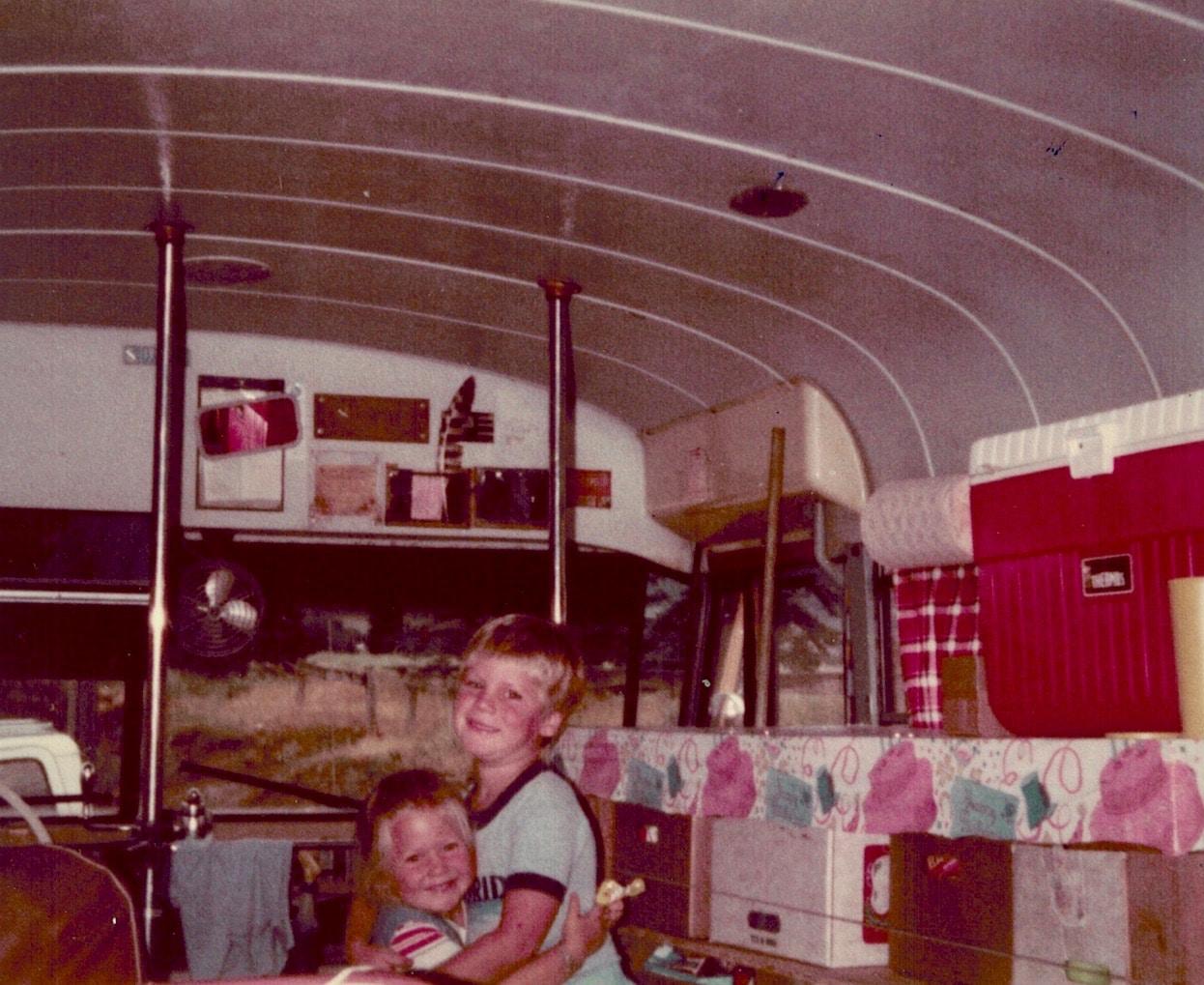 famille nomade bus aménagé