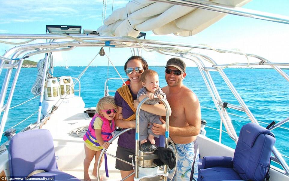 vivre sur un voilier en famille