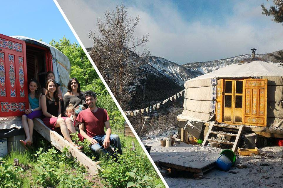 Vivre en yourte en France : ils ont choisi une vie alternative en famille