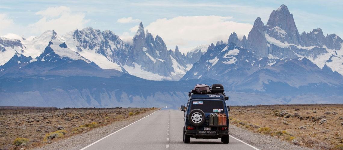 nomade avec des enfants en van