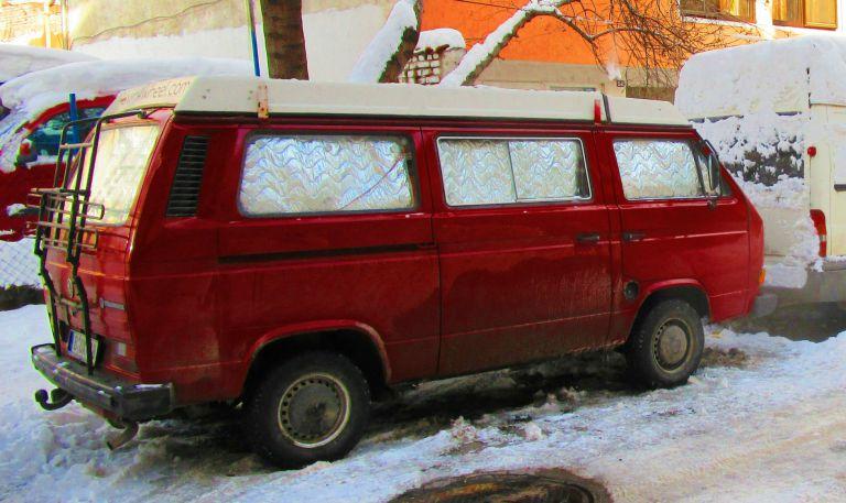 chauffage sans cheminée hiver en van