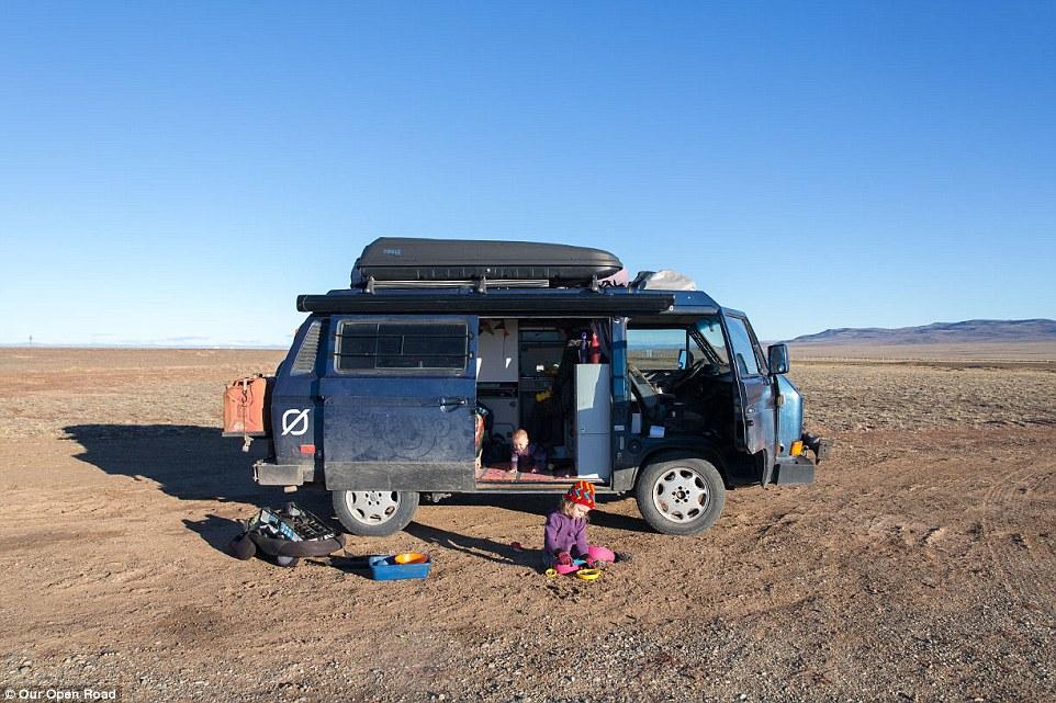 nomade avec des enfants voyage en famille