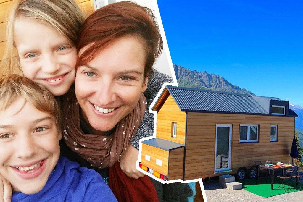 Tout quitter pour vivre en Tiny House en famille : vie alternative de Karin